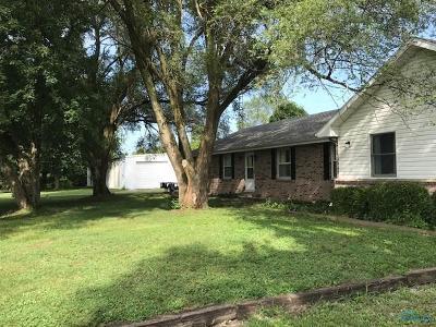 Monclova Single Family Home For Sale: 8600 Stitt Road
