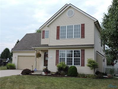Perrysburg Single Family Home For Sale: 836 Wood Sorrel Lane