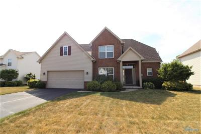 Perrysburg Single Family Home Contingent: 6158 Brookhaven Boulevard