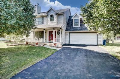 Perrysburg Single Family Home Contingent: 831 Little Creek Drive