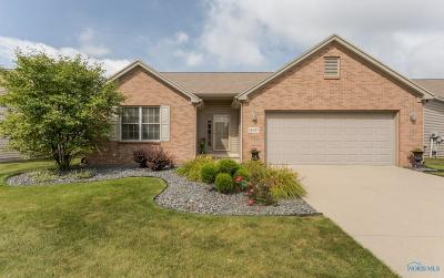 Perrysburg Condo/Townhouse For Sale: 26357 Emerald Lakes Drive