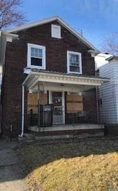 Toledo Single Family Home For Sale: 1727 Mansfield Road
