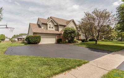 Perrysburg Single Family Home For Sale: 26836 Dogwood Lane