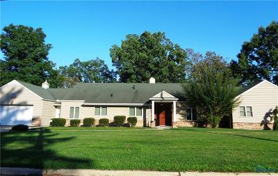 Toledo Single Family Home For Sale: 4245 River Road