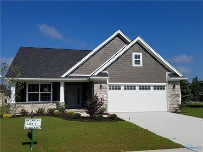 Perrysburg Condo/Townhouse For Sale: 15864 Corner Brook Court #Lot 1