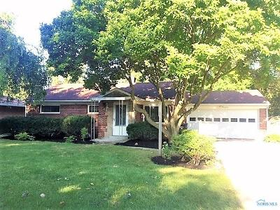 Maumee Single Family Home For Sale: 1053 Scribner