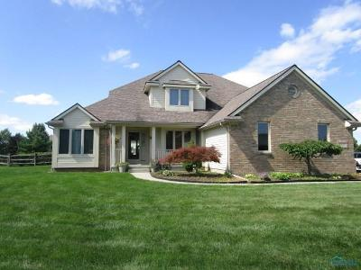 Monclova Single Family Home For Sale: 5800 Red Leaf Lane