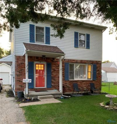 Rossford Single Family Home Contingent: 117 Hillsdale Avenue