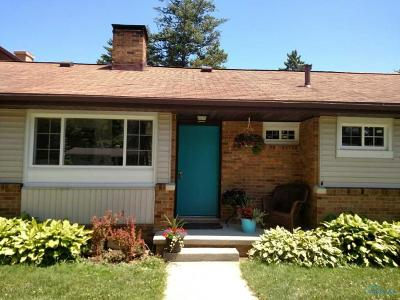 Maumee Single Family Home For Sale: 1220 Shelly Avenue