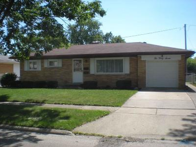 Maumee Single Family Home For Sale: 1047 Kirk Street