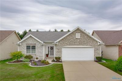 Maumee Condo/Townhouse Contingent: 4162 Lake Pine Drive