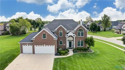 Perrysburg Single Family Home For Sale: 14581 Monarch Court