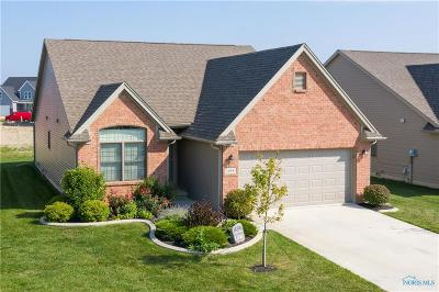 Perrysburg Condo/Townhouse For Sale: 14896 Lake Winds Drive