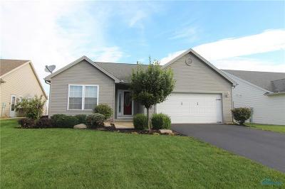 Perrysburg Single Family Home For Sale: 7018 Twin Lakes Road