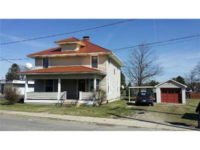 South Vienna Single Family Home For Sale: 212 N Urbana Street