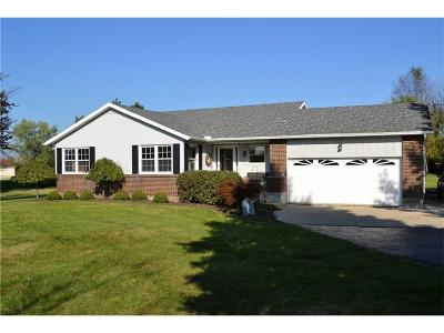Enon Single Family Home For Sale: 2370 S Tecumseh Road
