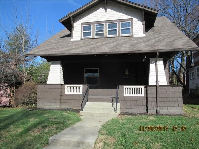 Springfield OH Single Family Home For Sale: $128,200