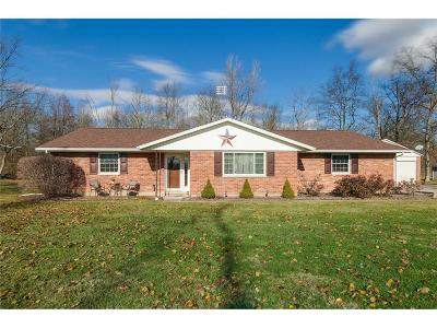 New Carlisle Single Family Home Contingency/Show: 7245 E Tipp Elizabeth Road