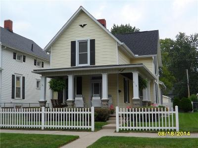 Urbana Single Family Home For Sale: 418 E Church