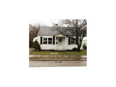 Springfield OH Single Family Home For Sale: $34,500