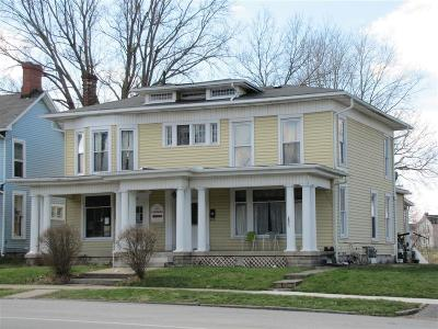 Urbana Multi Family Home For Sale: 548 N Main Street