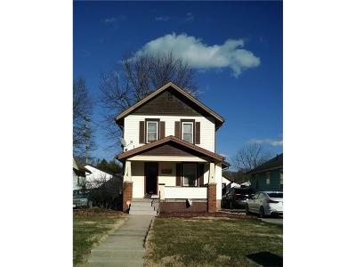 Springfield OH Single Family Home For Sale: $76,000