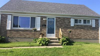 Springfield OH Single Family Home For Sale: $132,900
