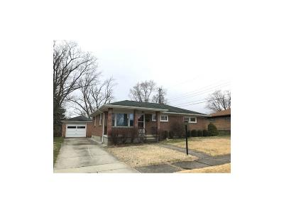 Springfield OH Single Family Home For Sale: $98,500