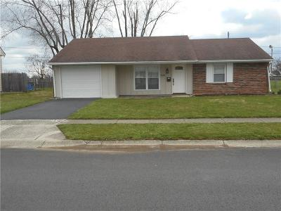 New Carlisle Single Family Home For Sale: 608 Spinning Road