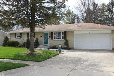 New Carlisle Single Family Home For Sale: 223 Zimmerman
