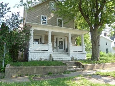 Urbana Multi Family Home For Sale: 304 W Church Street