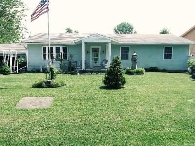 Belle Center OH Single Family Home For Sale: $159,500