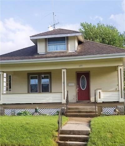 Springfield OH Single Family Home For Sale: $86,522