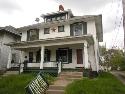Springfield OH Multi Family Home For Sale: $41,800