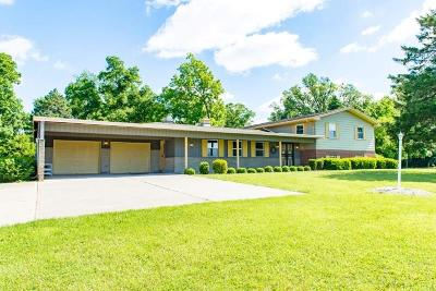 New Carlisle Single Family Home For Sale: 9410 Milton Carlisle Road