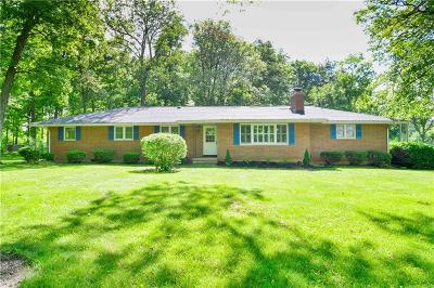 Urbana Single Family Home For Sale: 5185 Ridge Road
