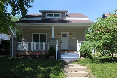 Springfield OH Single Family Home For Sale: $89,900