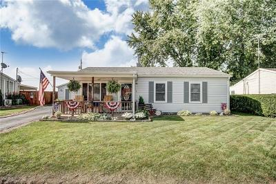 Springfield OH Single Family Home Contingency/Show: $79,900