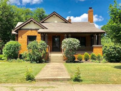 Springfield OH Single Family Home For Sale: $125,000