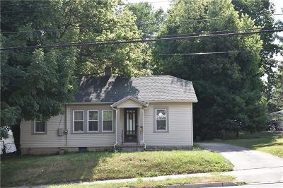 Springfield OH Single Family Home For Sale: $44,900