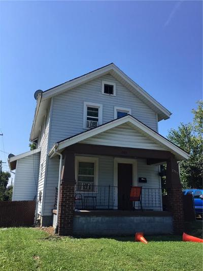 Springfield OH Single Family Home For Sale: $45,000