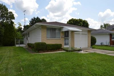 Springfield OH Single Family Home For Sale: $69,900