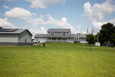 South Charleston Single Family Home For Sale: 11450 Plattsburg Road