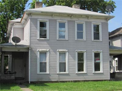 Springfield Multi Family Home Contingency/Show: 505-507 Chestnut Avenue