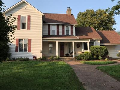 South Charleston Single Family Home For Sale: 3318 S Urbana Lisbon Road