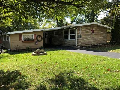 Springfield OH Single Family Home For Sale: $109,900