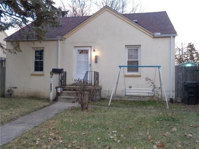 Springfield OH Single Family Home For Sale: $39,900