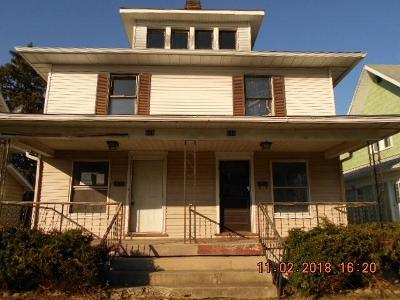Springfield OH Multi Family Home For Sale: $17,900