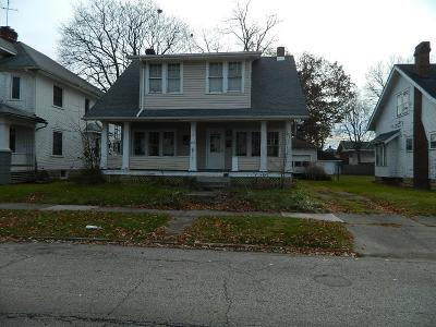 Springfield OH Single Family Home For Sale: $49,900