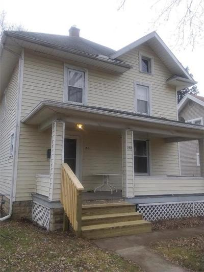 Springfield OH Single Family Home For Sale: $74,900